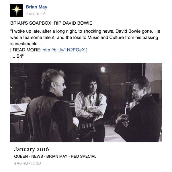 Morte David Bowie - neomag.