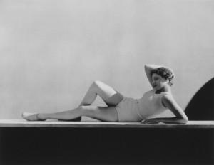 Agneta Fischer, Swimwear by Schiaparelli, 1931.