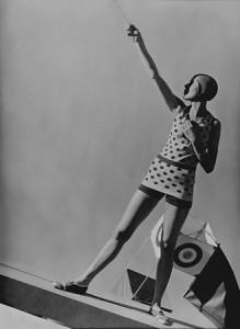 Mlle Katkoff, Swimwear by Lanvin, 1928.