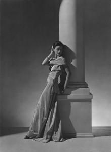 Toto Koopman, Evening Dress by Vionnet, 1934.