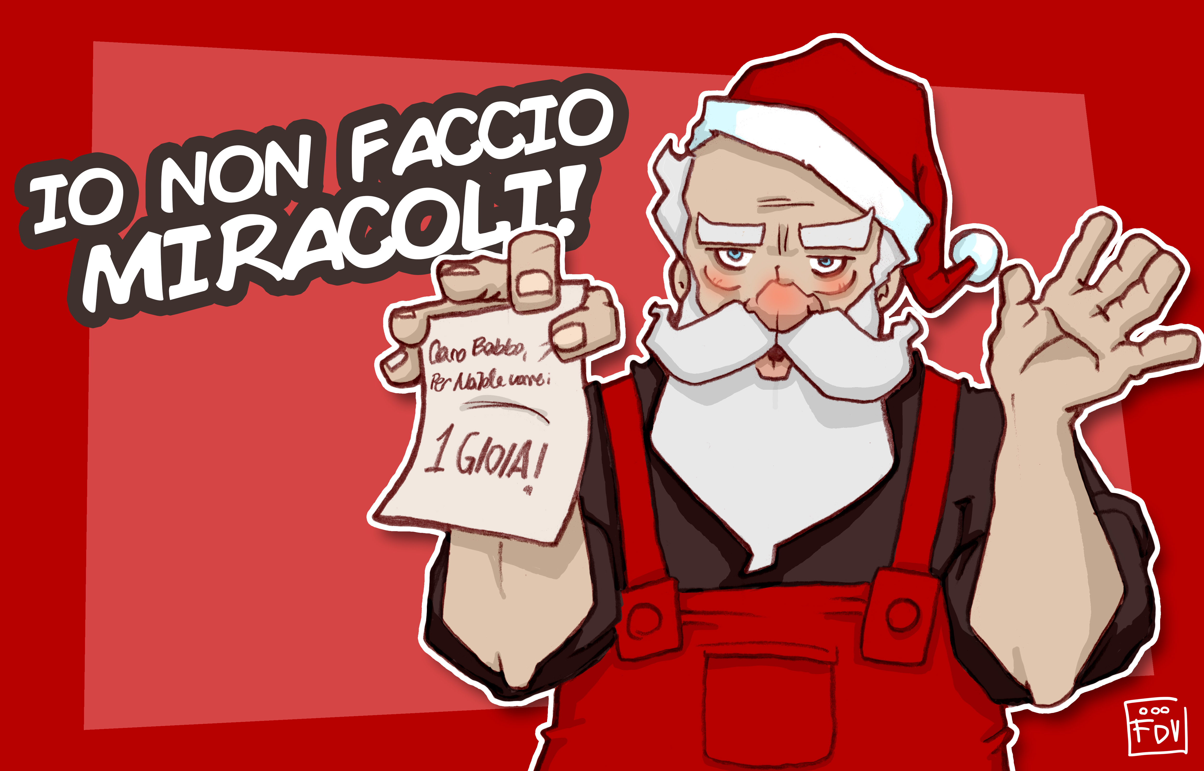 Lettera A Babbo Natale Divertente.Lettera A Babbo Natale Una Gioia E Per Sempre Neomag
