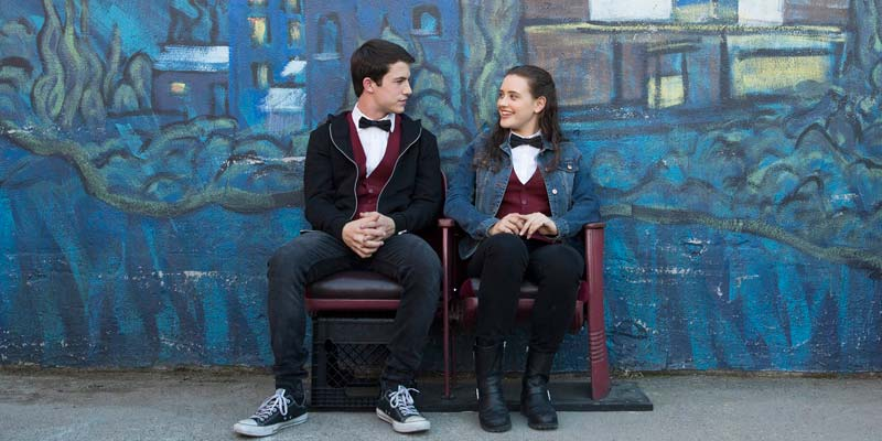 Hanna Baker e Clay Jensen - Neomag.