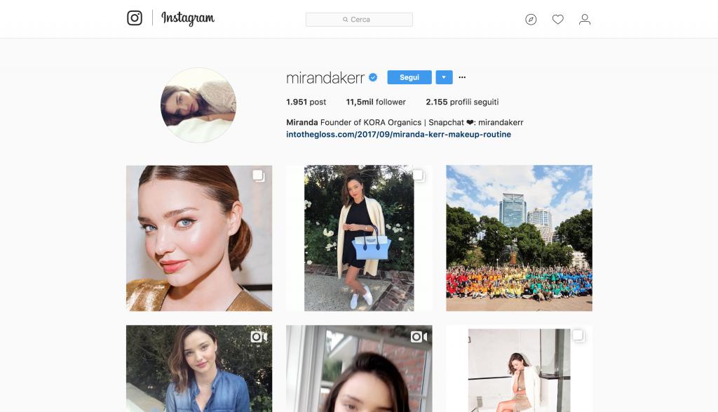 Top model su instagram - Neomag.