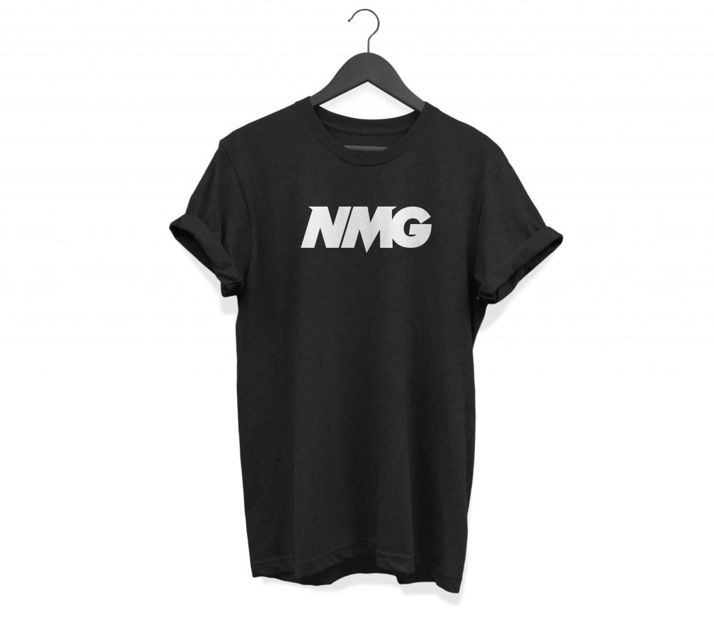Maglietta Cool - T-Shirt Thrasher - Prodotti Neomag - T-Shirt Neomag Nera- Neomag.