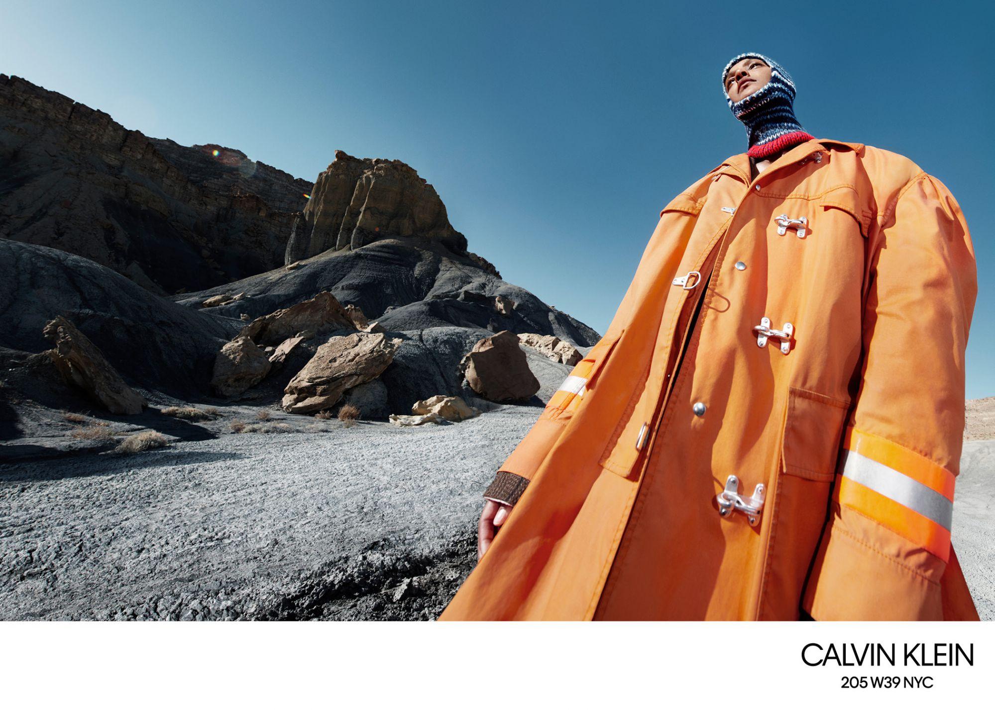 best loved 5df98 40e6e Campagna Calvin Klein di Willy Vanderperre per la nuova ...