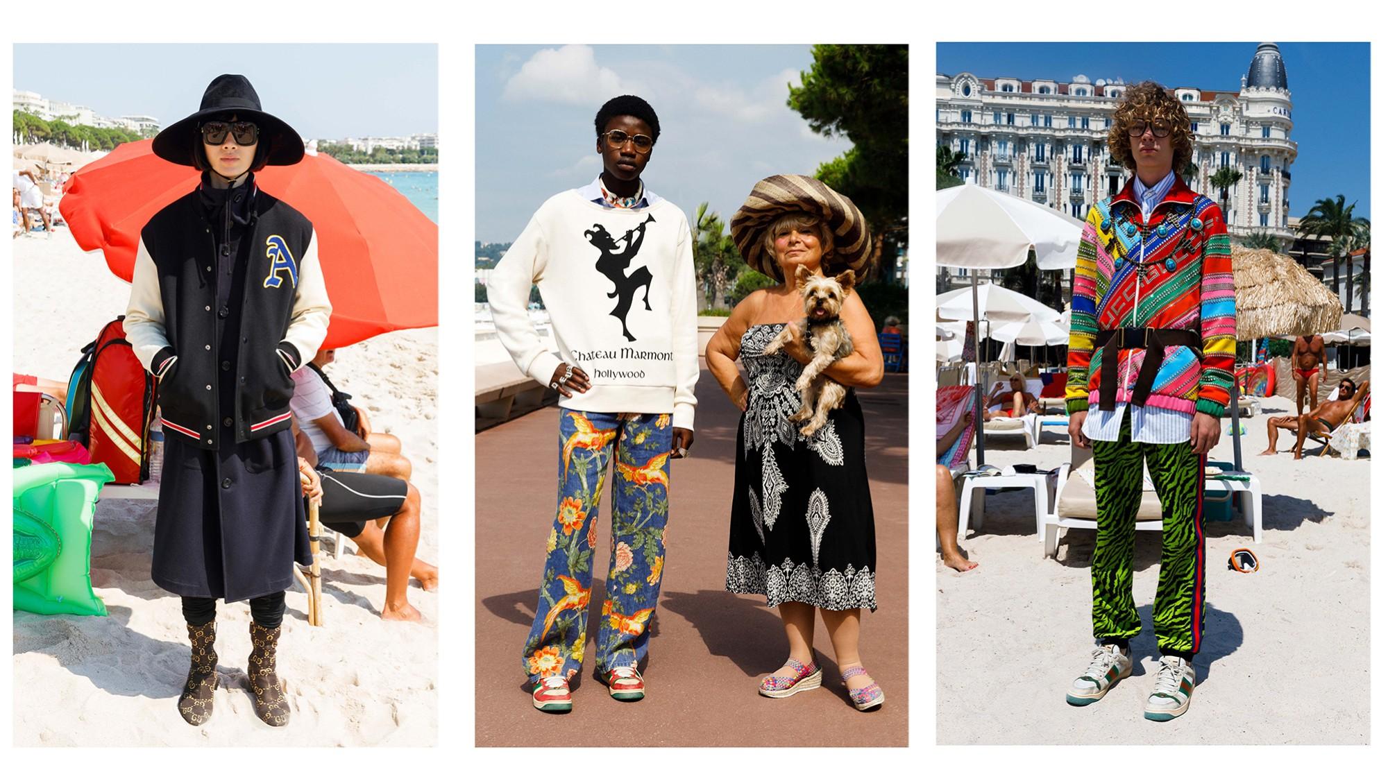 sports shoes 48bf9 a412e L'ultima campagna di Gucci a Cannes firmata dal Fotografo ...