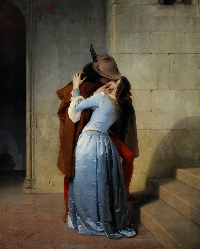 Il bacio (Hayez 1859) - Neomag.