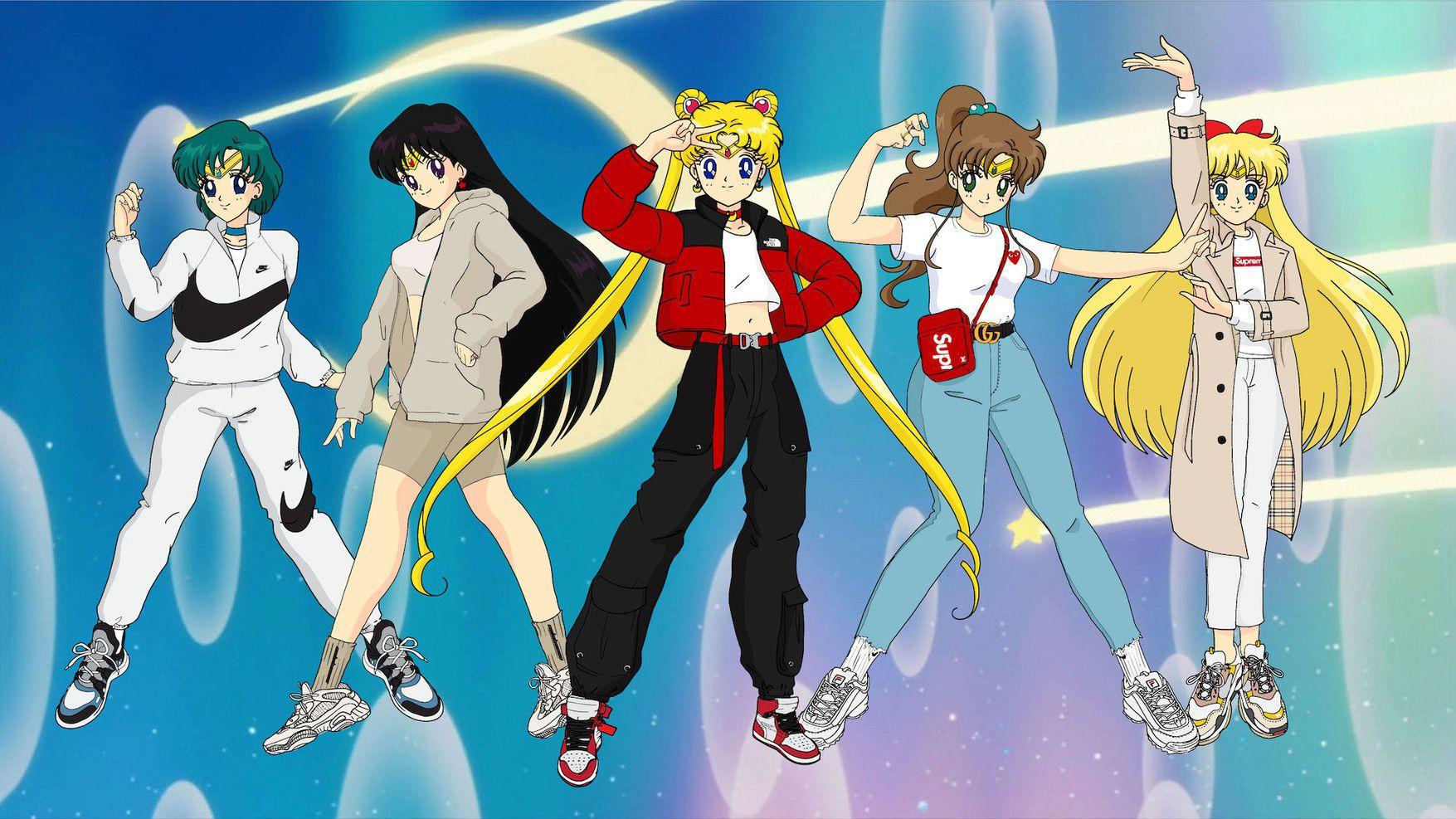 Sailor Moon icona di streetstyle - Neomag.