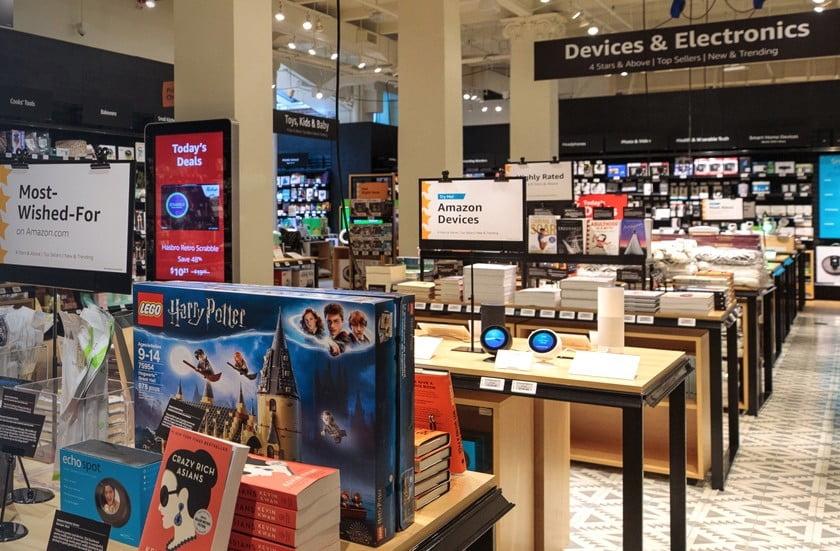 Amazon apre un negozio a New York con tutti i suoi prodotti