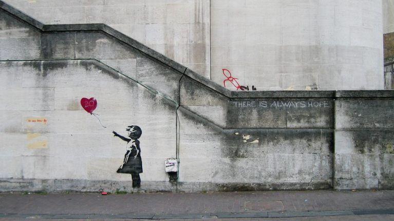 Banksy Murale Londra - Neomag.