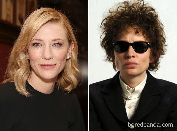 Cate Blanchett - Bob Dylan - Neomag.