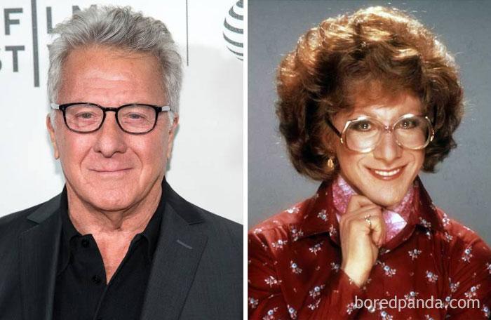 Dustin Hoffman - Dorothy Michaels - Neomag.