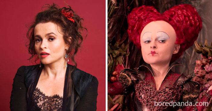 Helena Bonham Carter - Red Queen - Neomag.