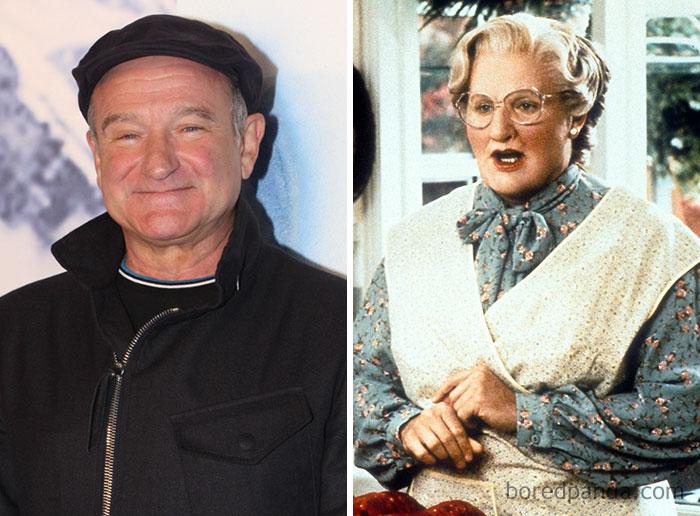 Robin Williams - Mrs. Doubtfire - Neomag.