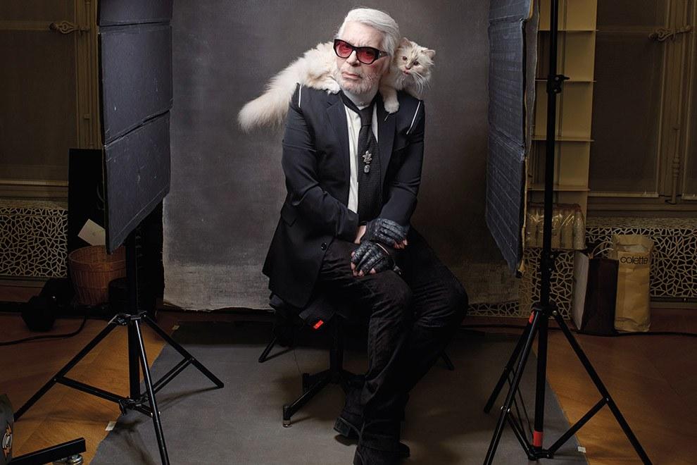 Il gatto di Karl Lagerfeld - Neomag.