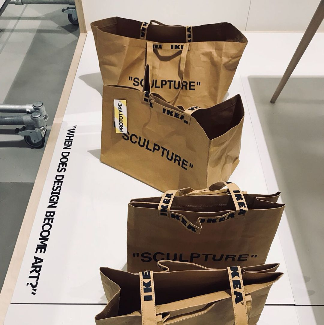 BORSA LARGE Off-White x Ikea - Neomag.