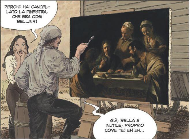 Caravaggio – La Grazia - Milo Manara - Neomag.
