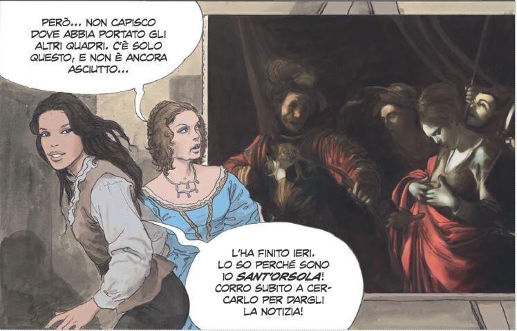 La vita di Caravaggio - Milo Manara - Neomag.
