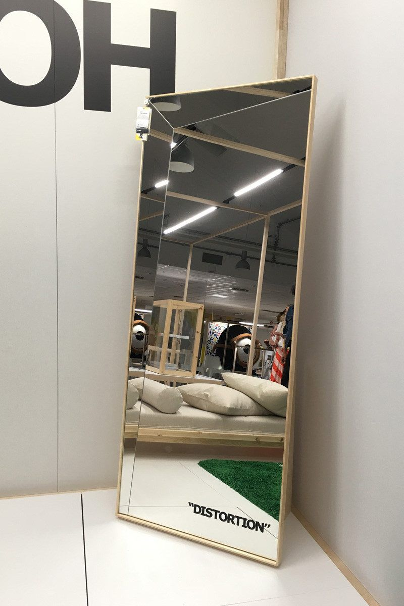 Specchio Off-White x Ikea - Neomag.