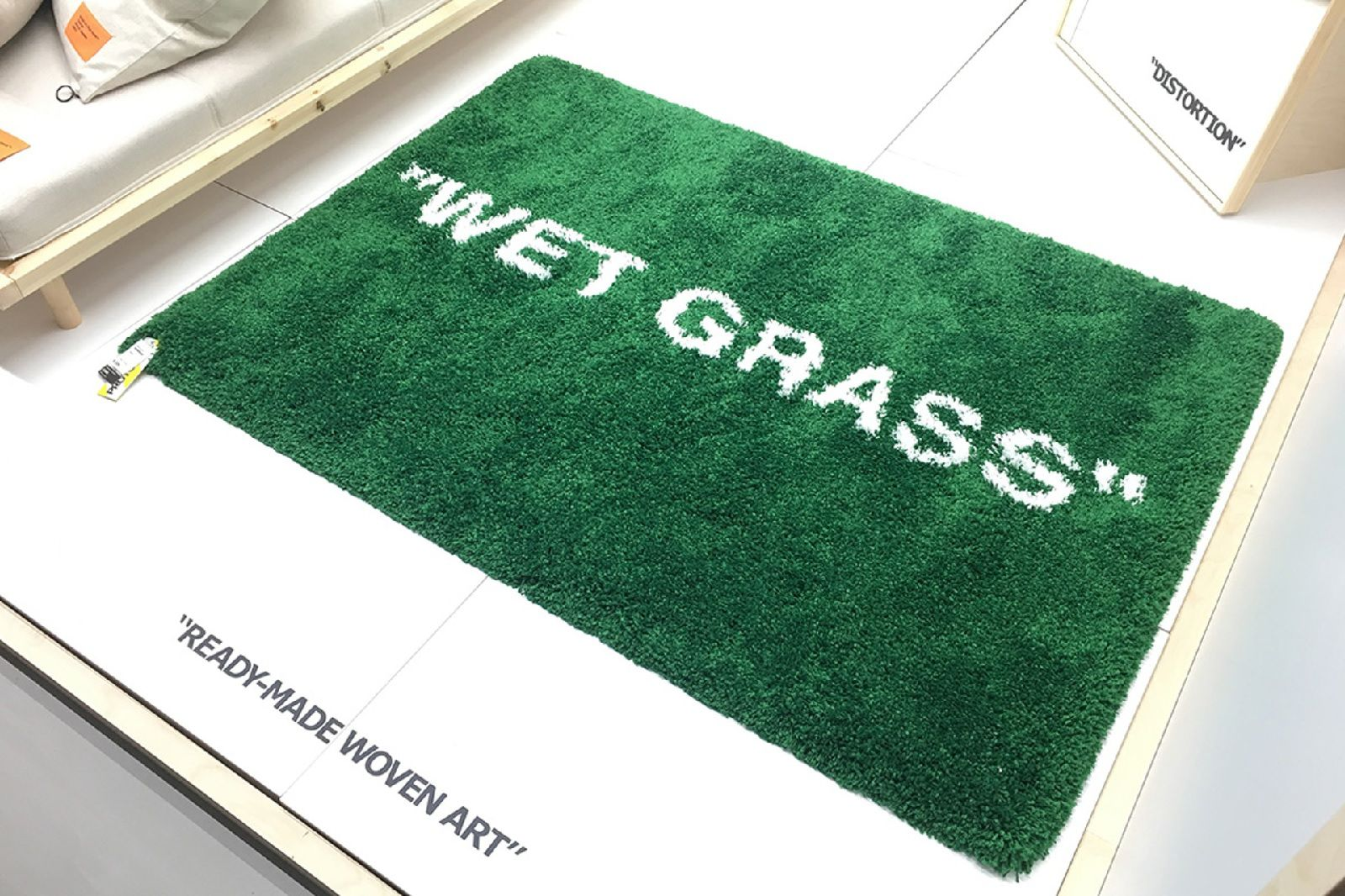 Tappeto Wet Grass Off-White x Ikea - Neomag.