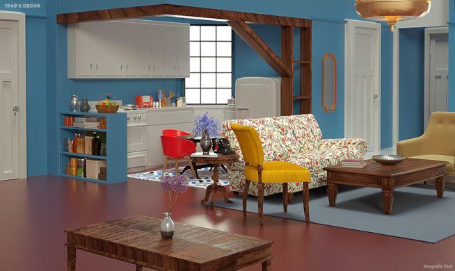 Anni quaranta appartamento di Monica Friends - Neomag.