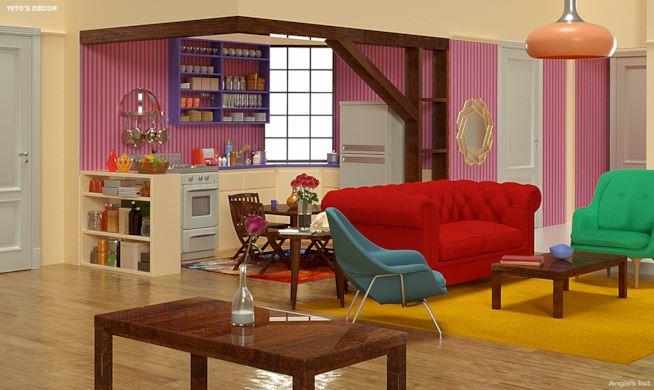 Anni settanta appartamento di Monica Friends - Neomag.