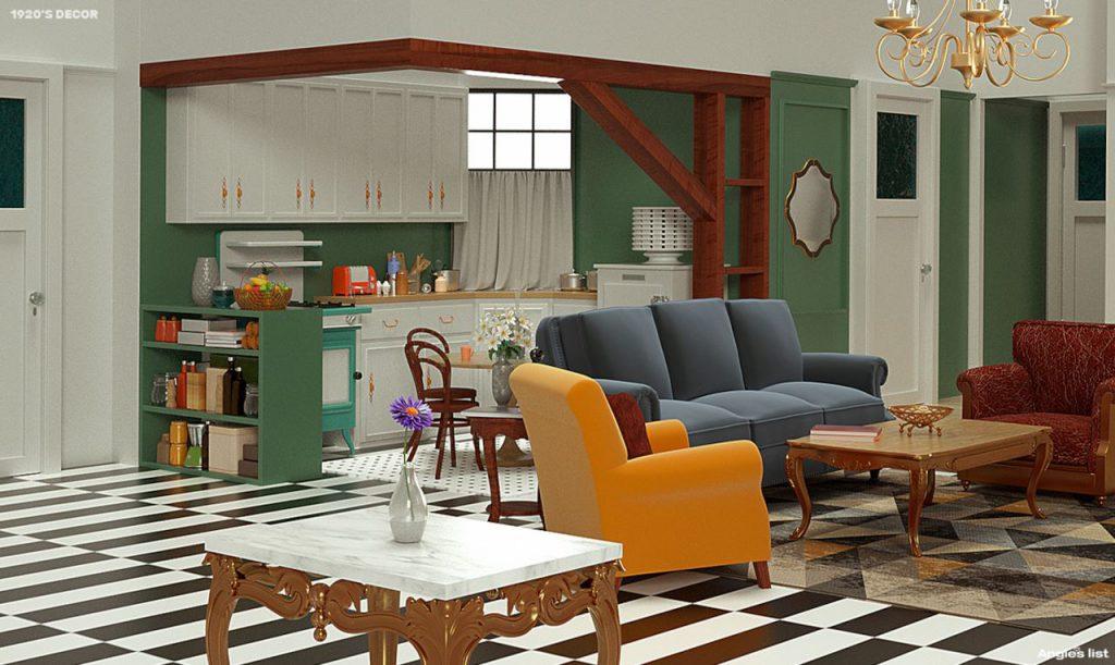 Anni venti appartamento di Monica Friends - Neomag.