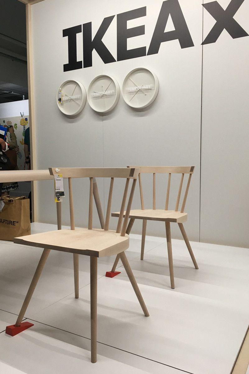 Sedia Ikea x Virgil Abloh - Neomag.