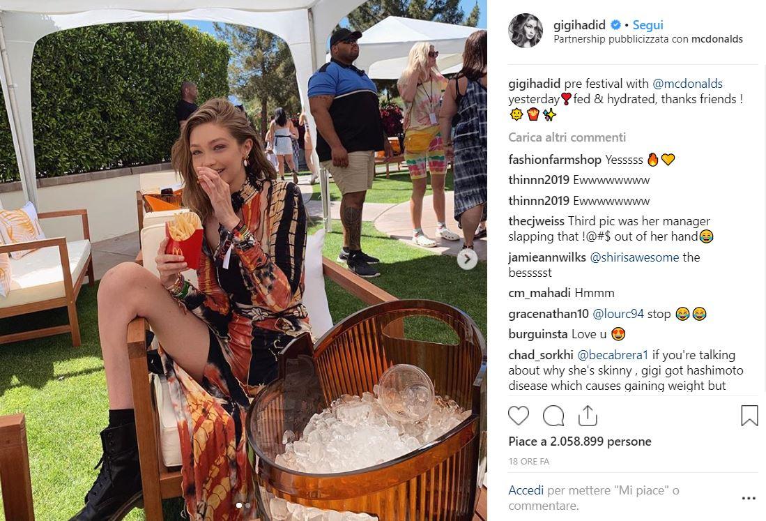 Gigi Hadid al Coachella - Neomag.
