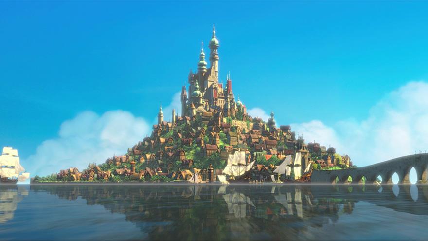 Ambientazione Rapunzel - Neomag.