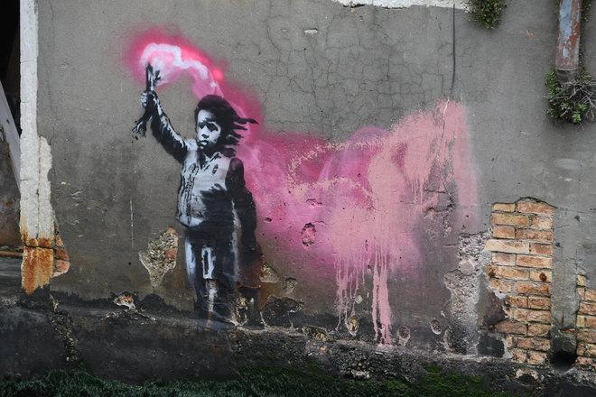Murales di Banksy a Venezia - neomag.