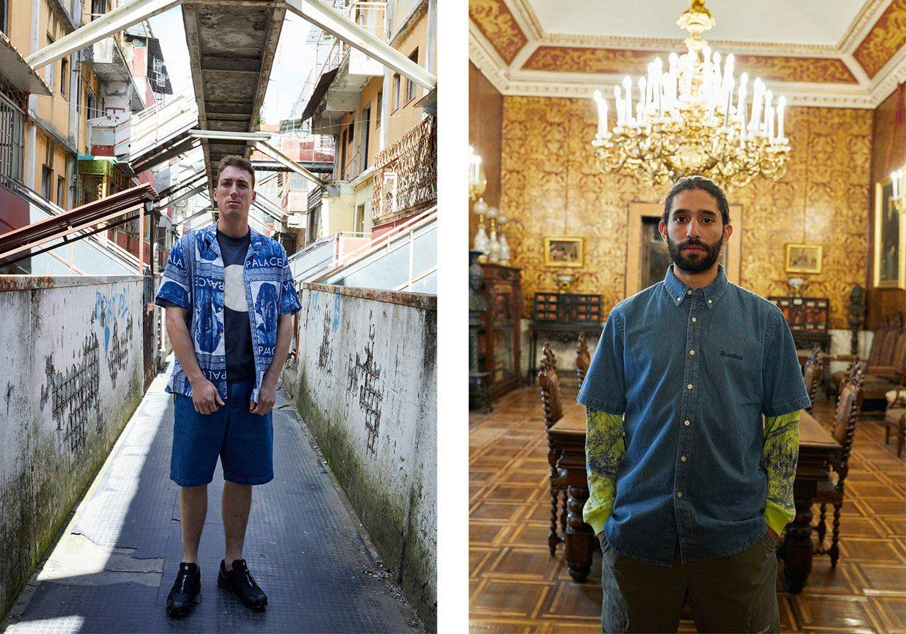 Palace lookbook 2019 - Napoli - Neomag.