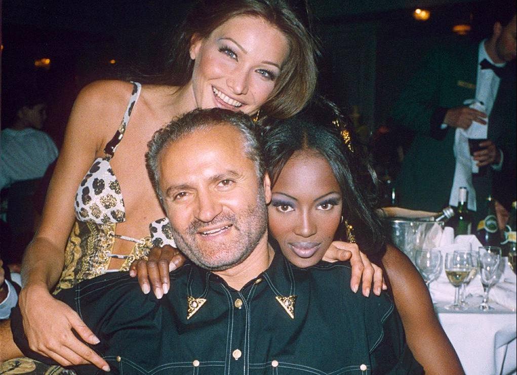 Le modelle di Gianni Versace- Neomag.