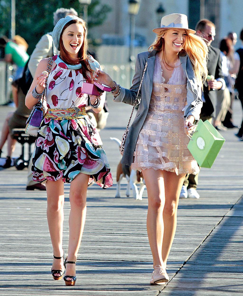 Serena e Blair in Gossip Girl - Neomag.