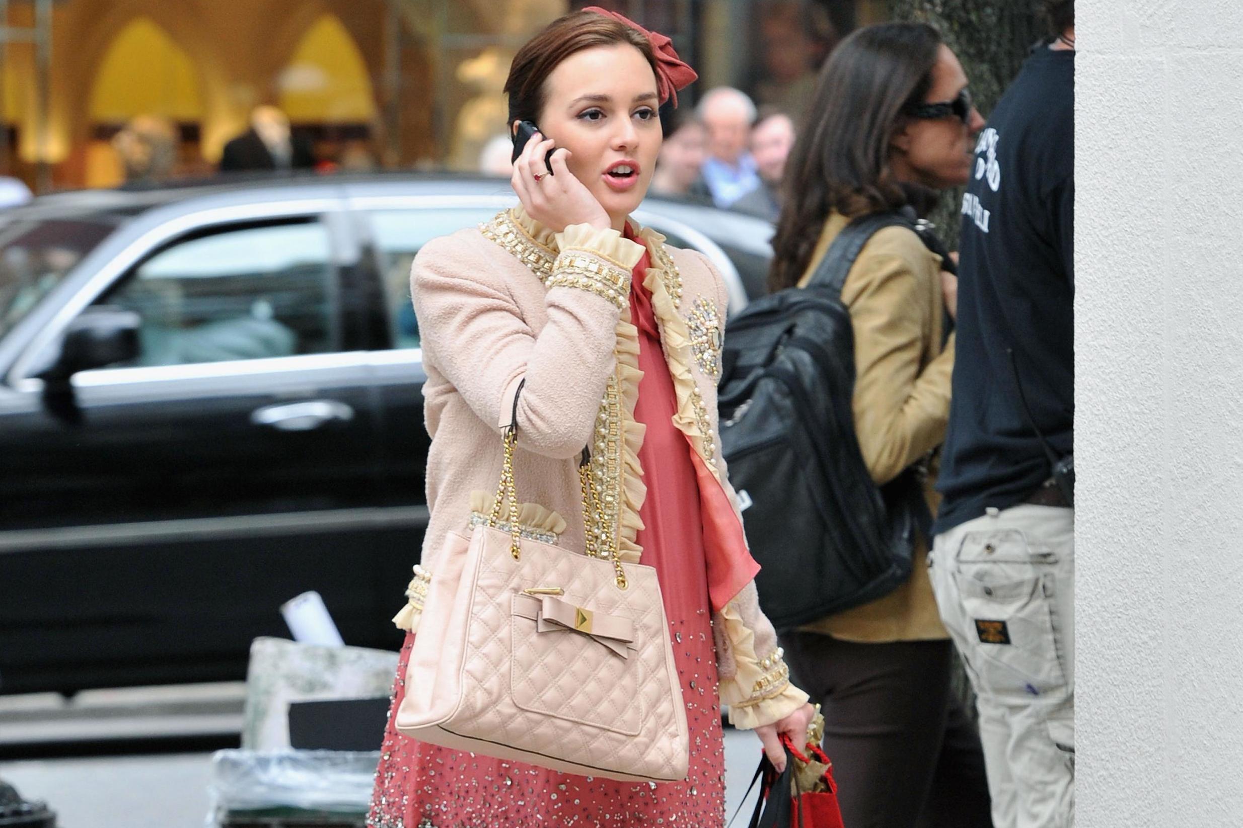 Leighton Meester in Gossip Girl - Neomag.