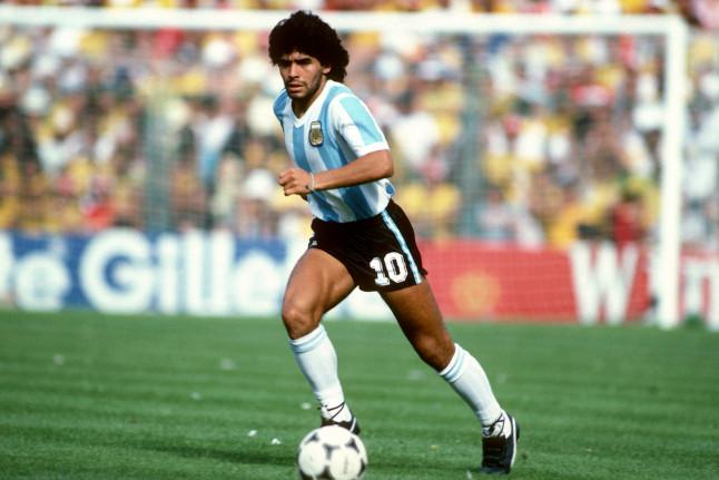 Maradona al Napoli - Neomag.