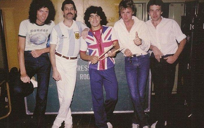 Maradona e i Queen - Neomag.