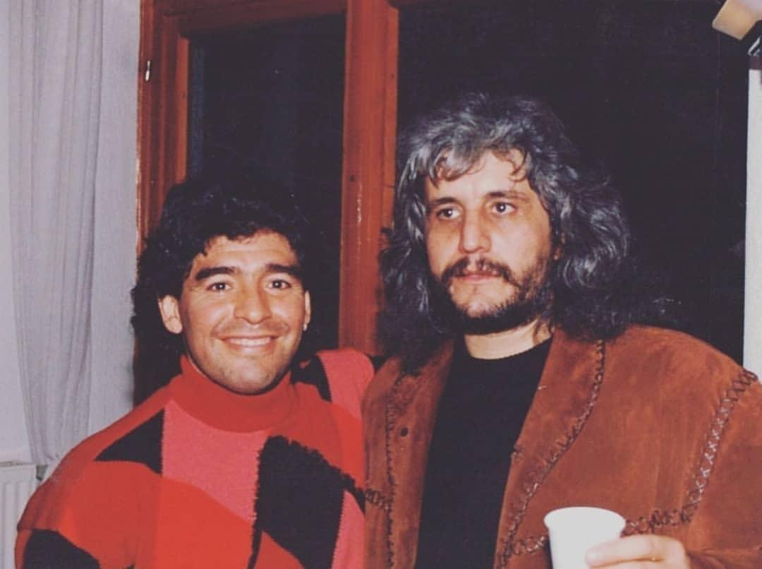 Maradona e Pino Daniele - Neomag.