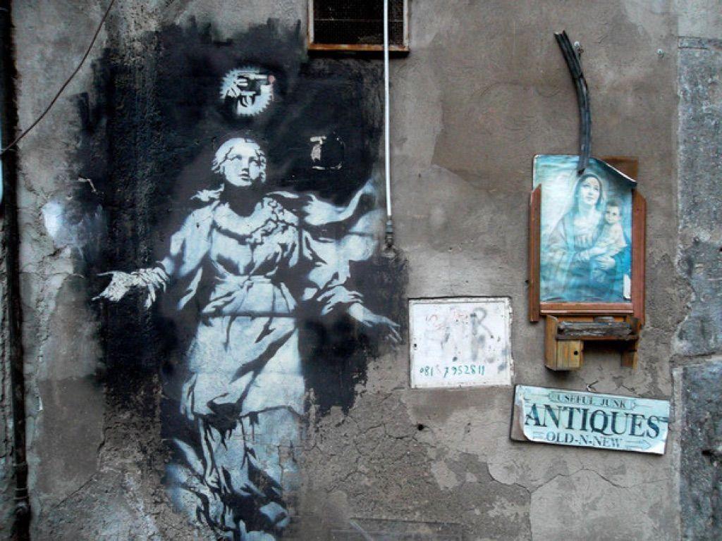 Banksy a Napoli - Neomag.