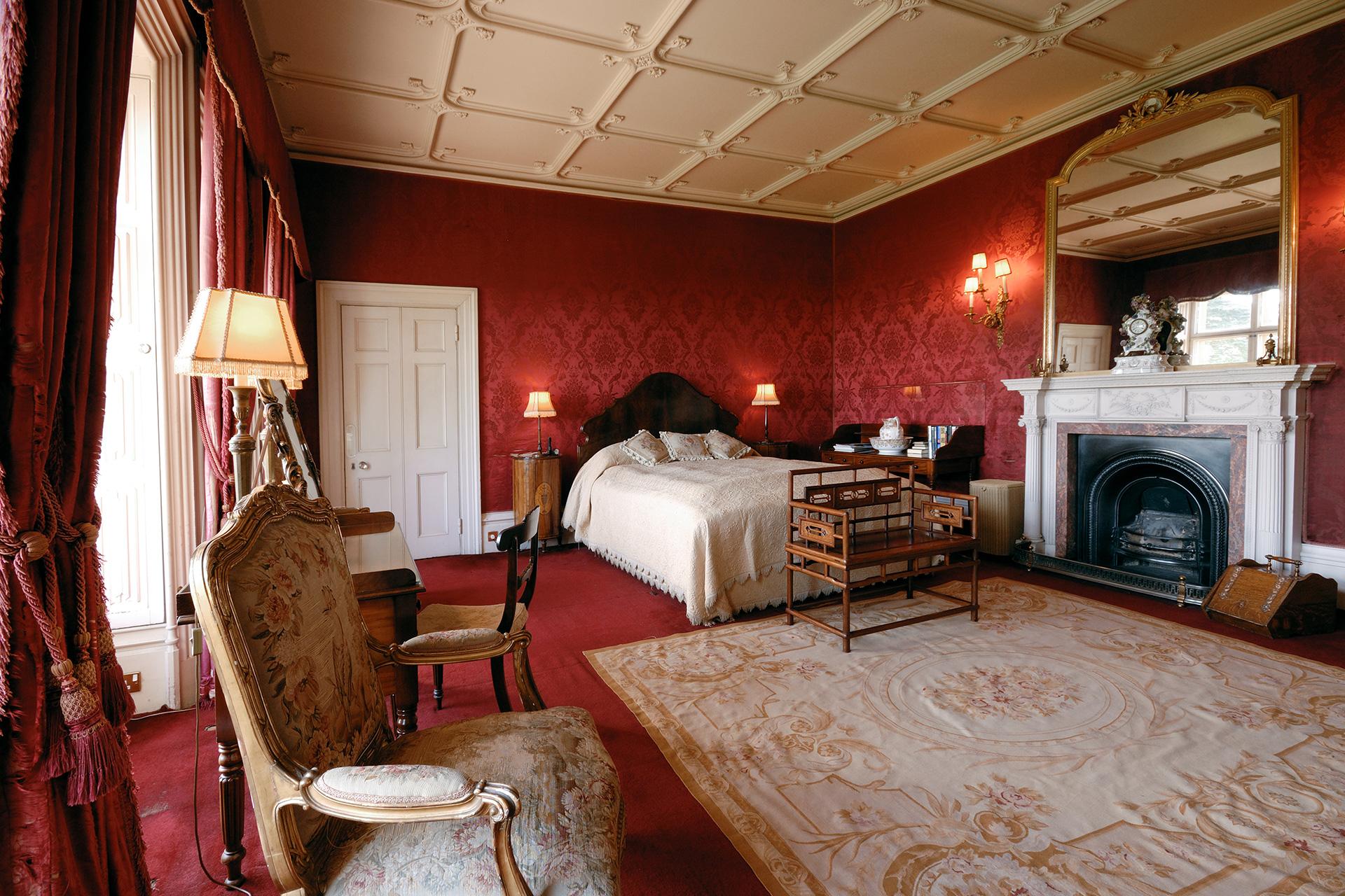 Camera da letto di Highclere Castle - Neomag.
