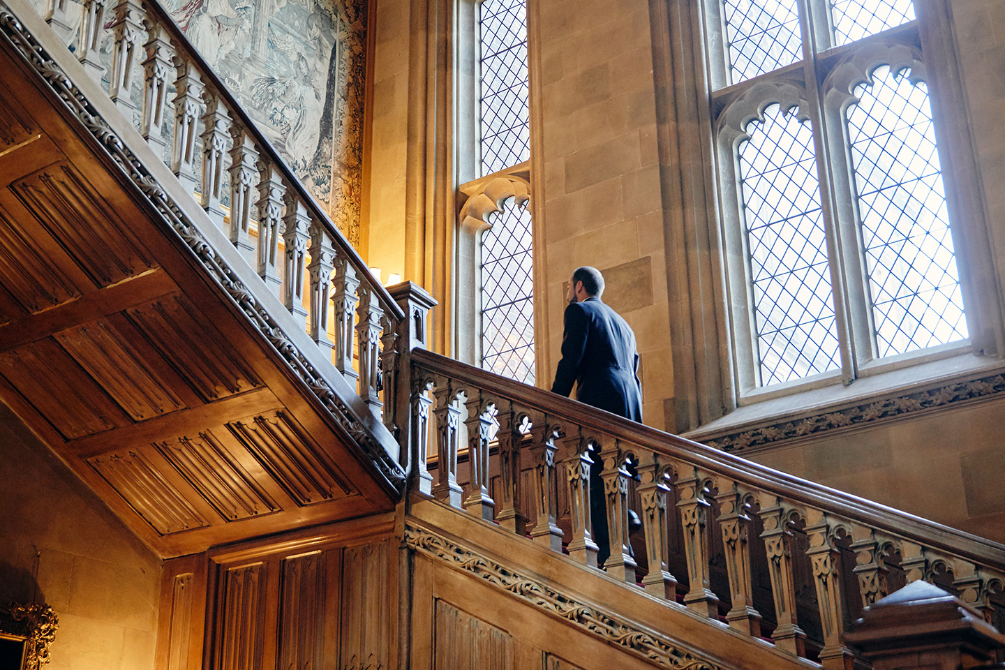 Scale di Highclere Castle - Neomag.