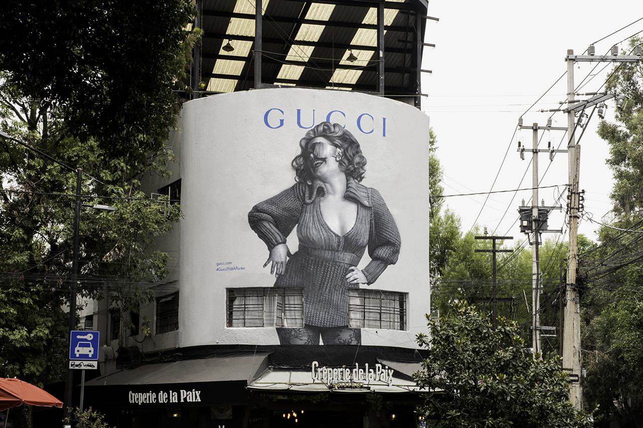 ArtWall di Gucci Parigi - Neomag.