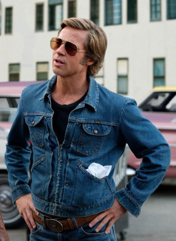 Giubbotto di jeans di brad pitt - Neomag.