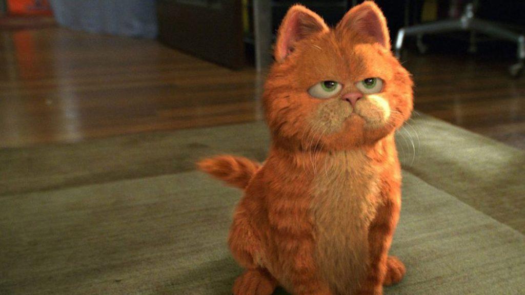 Bill Murray in Garfield - Neomag.