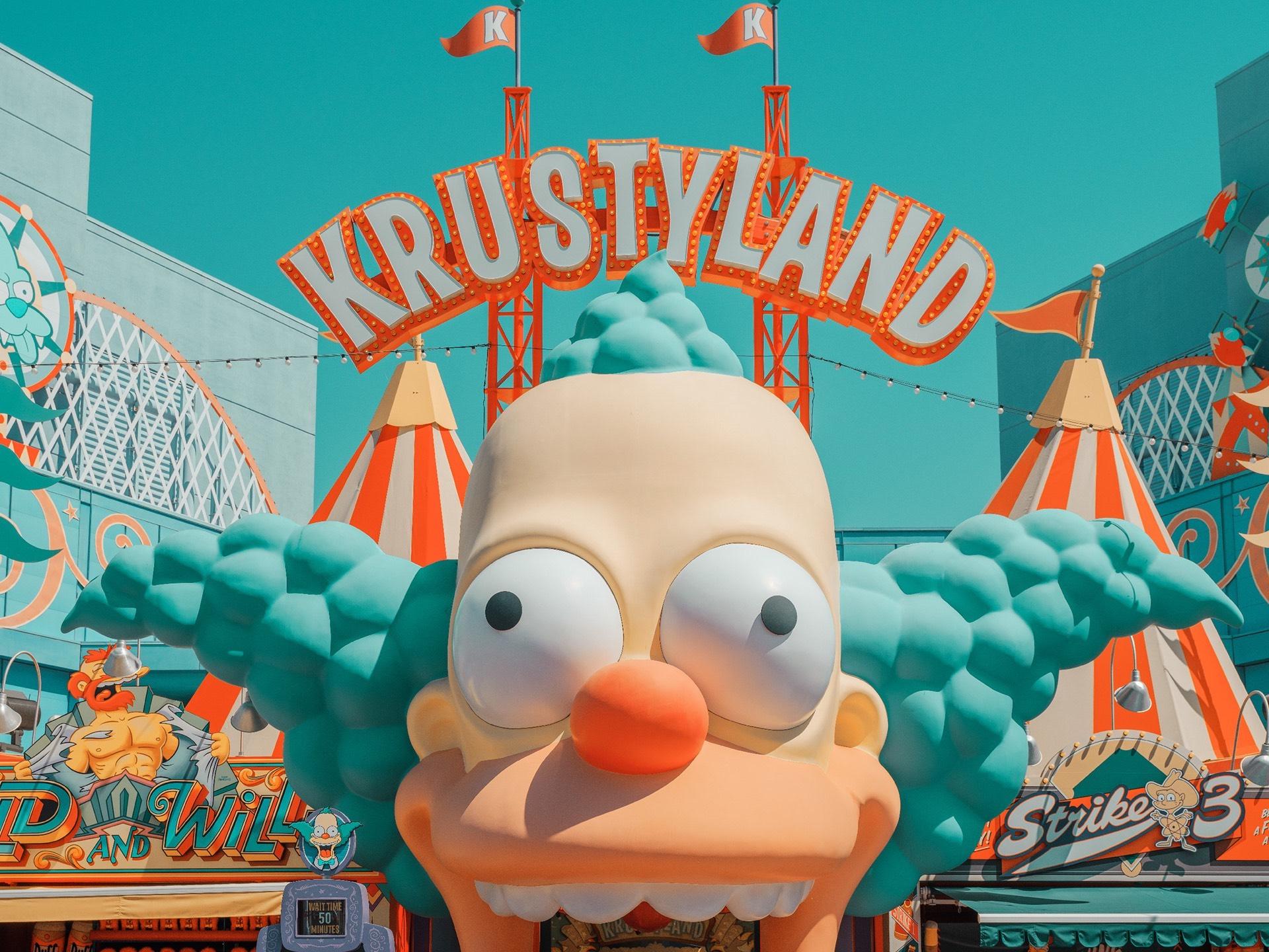 Krustyland Universal Studio Park - Neomag.