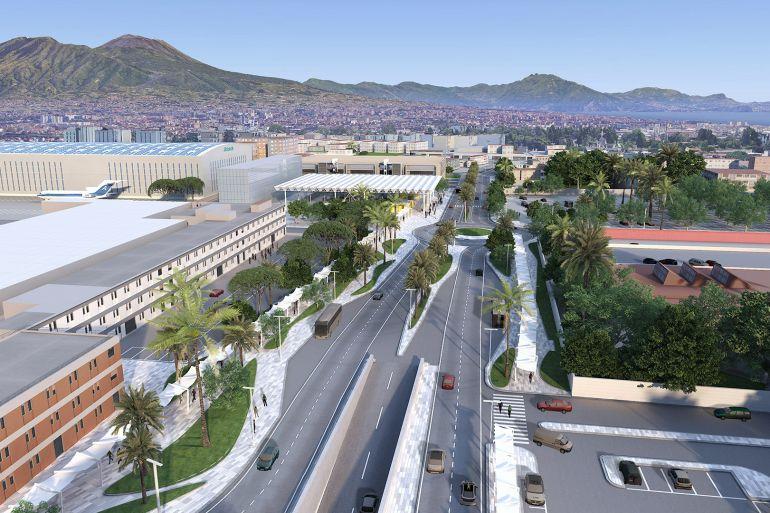 Metro Richard Rogers - aeroporto di Napoli - Neomag.