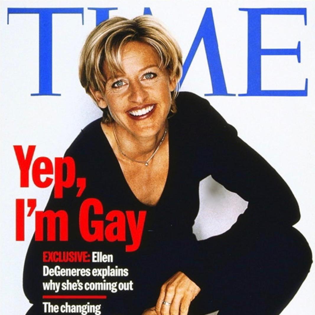 Ellen Degeneres - coming out - Neomag.