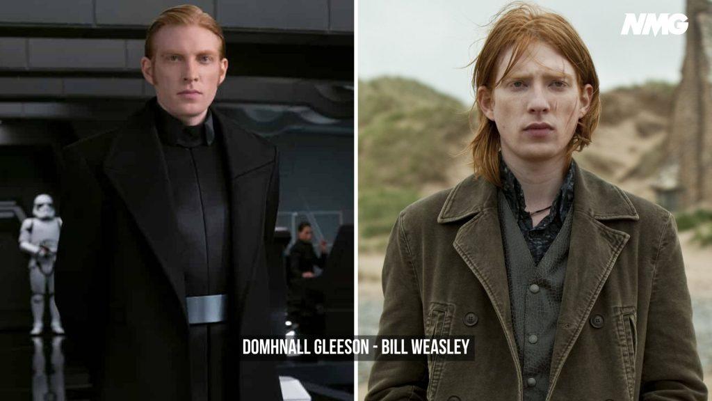 Domhnall Gleeson in Harry Potter - Neomag.