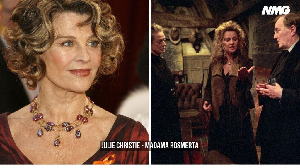 Julie Christie in Harry Potter - Neomag.