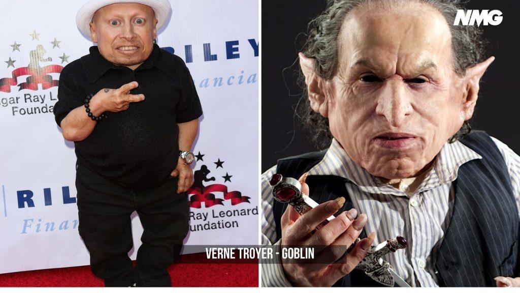 Verne Troyer in Harry Potter - Neomag.